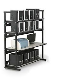 Find the heavy duty metal shelving online to save time!