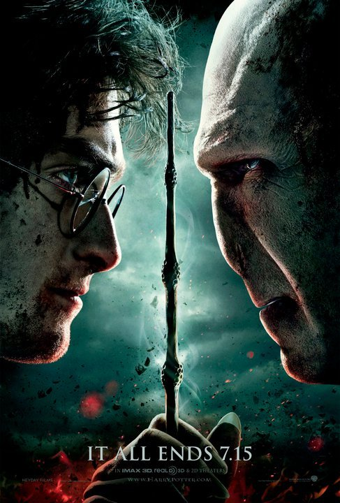 new harry potter and the deathly hallows part 2 poster. The first new poster is a