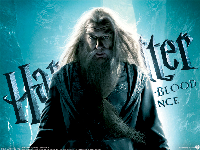 Harry Potter Half-Blood Prince Wallpaper - Dumbledore