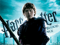 Harry Potter Half-Blood Prince Wallpaper - Ron