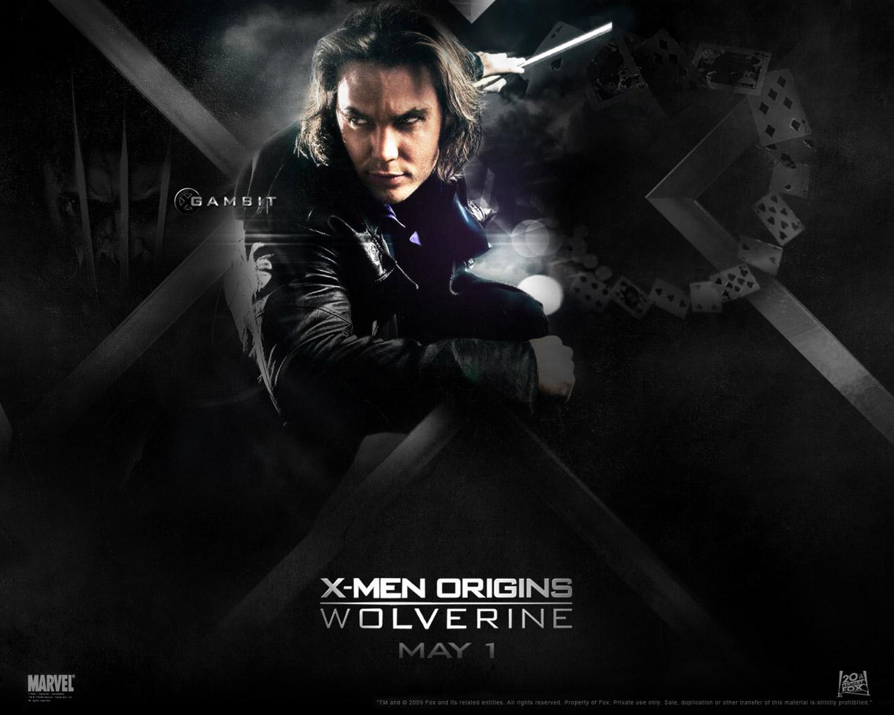 X men origins movie wallpapers